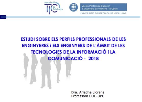 Participa en l'enquesta sobre el perfil d'enginyers TIC