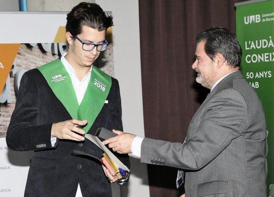 GrausTIC, presente en el acto de graduación de la UAB