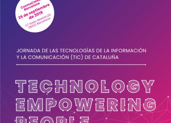 Inscríbete en la Diada de las Tecnologías de la Información y la Comunicación (TIC) en Cataluña