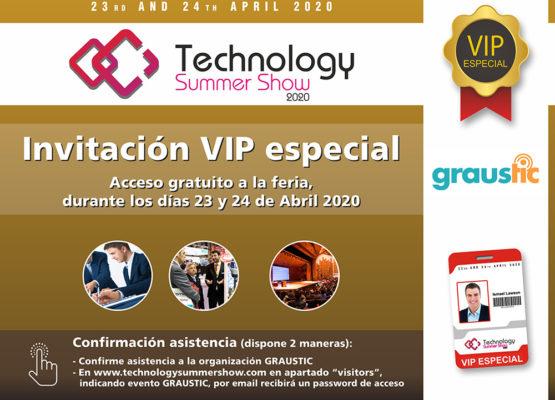 Invitaciones VIP para el Technology Summer Show de Ibiza 2020