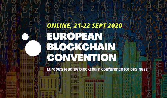 30% de descompte en l'European Blockchain Convention!